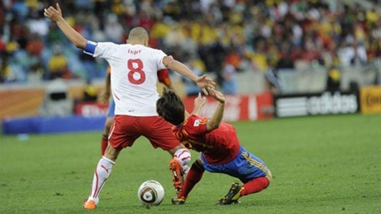 David Silva et l'Espagne s'inclinent face à la Suisse