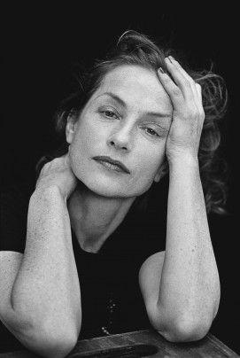 Isabelle Huppert lit Sade  (Peter Lindbergh)