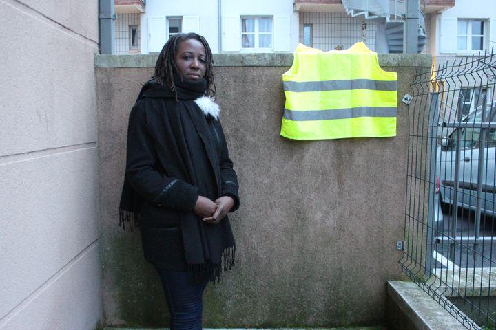 Priscillia Ludosky, le 18 décembre 2018 à Savigny-le-Temple (Seine-et-Marne). (VIOLAINE JAUSSENT / FRANCEINFO)