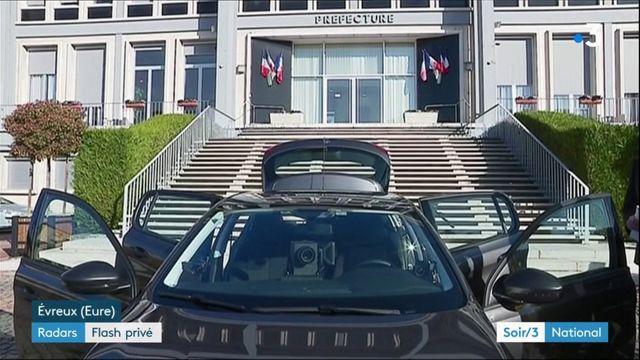 Sécurité : les voitures radars privées vont flasher dès lundi