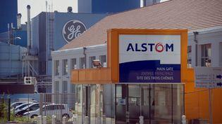 L'usine d'Alstom à Belfort (SEBASTIEN BOZON / AFP)