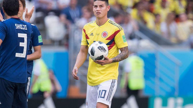 Le meneur de jeu colombien James Rodriguez (ELMAR KREMSER/SVEN SIMON / SVEN SIMON)