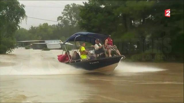 États-Unis : inondations meurtrières en Louisiane