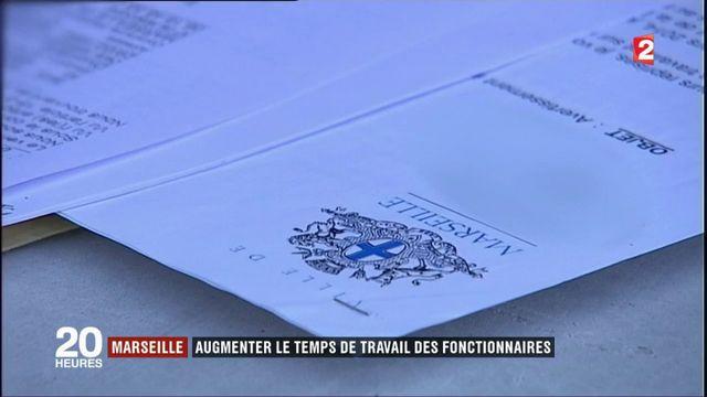 Marseille : la municipalité va surveiller le temps de travail des fonctionnaires