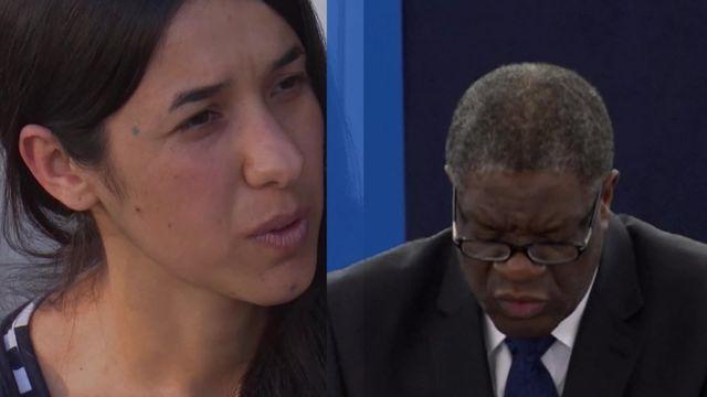 Prix Nobel de la paix : qui sont les deux lauréats, Nadia Murad et Denis Mukwege ?