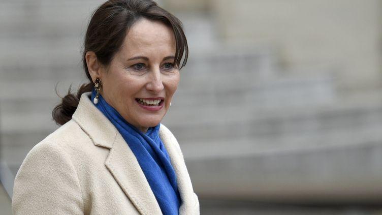 La ministre de l'Ecologie, Ségolène Royal, à l'Elysée, à Paris,le 5 janvier 2015. (MARTIN BUREAU / AFP)