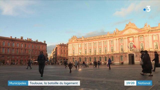 Municipales : bataille du logement à Toulouse