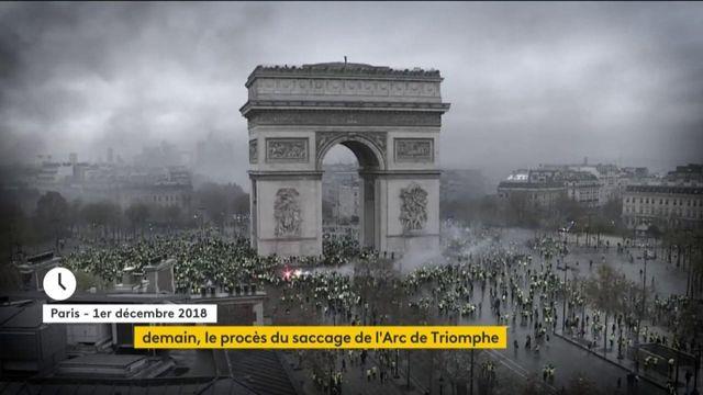 Saccage de l'Arc de Triomphe : le procès d'une attaque symbolique s'ouvre à Paris