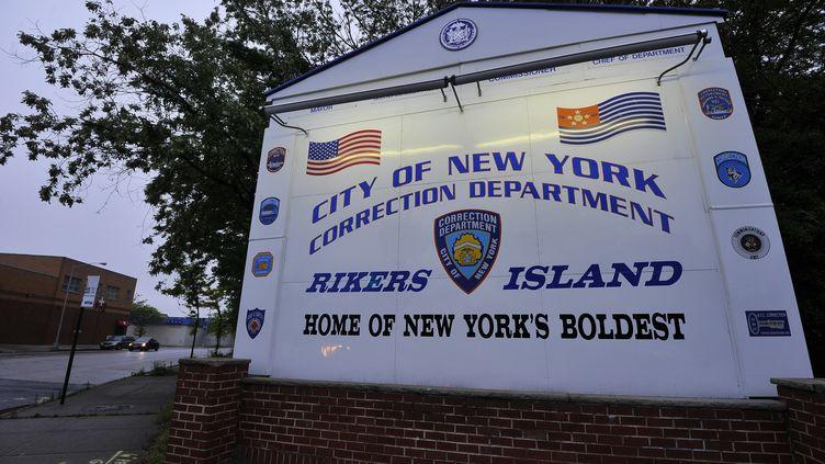 La prison géante de Rikers Island à New-York avait hébergé Dominique Strauss-Kahn en 2011. (15 mai 2011). (JEWEL SAMAD / AFP)