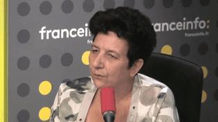 Frédérique Vidal, ministre de l'Enseignement Supérieur, était dans les studios de franceinfo ce jeudi 24 août. (FRANCEINFO)