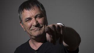 L'humoriste Jean-Marie Bigard chez lui, à Paris, le 6 mai 2014. (JOEL SAGET / AFP)