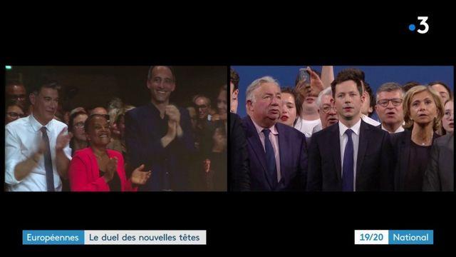 Européennes : Bellamy-Glucksmann, le duel des nouvelles têtes