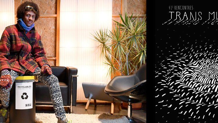Le rappeur brésilien Edgar, Trans Musicales de Rennes, 5 décembre 2019 (Damien MEYER / AFP)