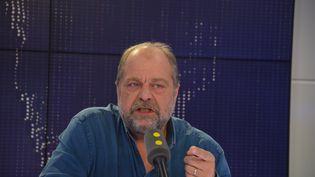 Eric Dupond-Moretti, avocat d'Abdelkader Merah. (JEAN-CHRISTOPHE BOURDILLAT / RADIO FRANCE)