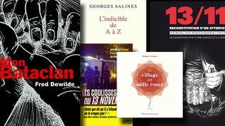 Les livres qui commémorent le 13 novembre