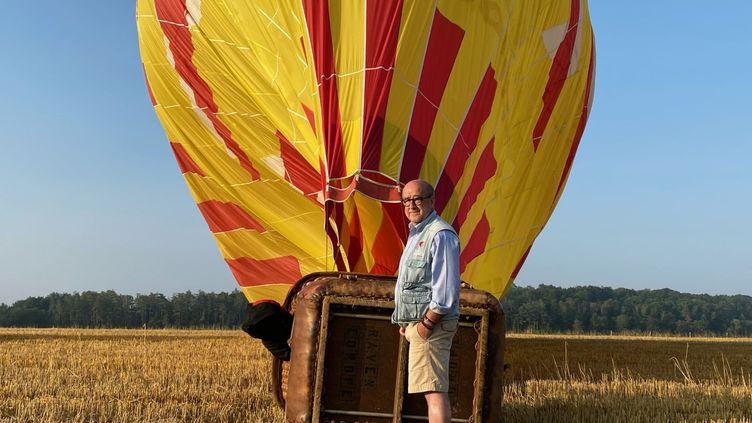 Philippe Buron Pilâtre, pilote de montgolfière et fondateur du Mondial Air Ballons. (BORIS LOUMAGNE / RADIO FRANCE)