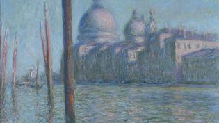 Le Grand Canal, 1908, Claude Monet (Paris, 1840 - Giverny, 1926), Huile sur toile, 73 x 92 cmCollection David et Ezra Nahmad (©Rodolphe-Haller Genève)