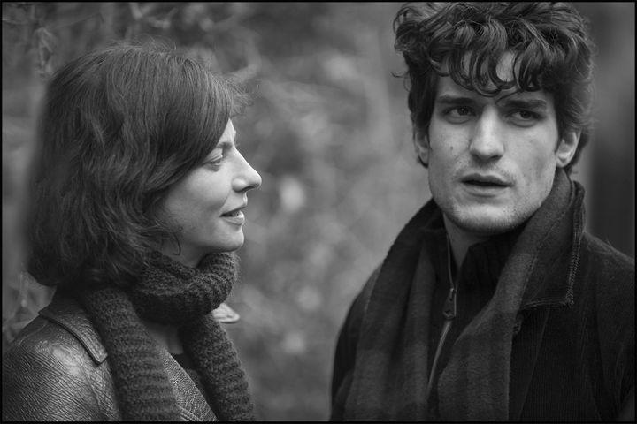 "Anna Mouglalis, Louis Garrel dans ""La jalousie"", de Philippe Garrel  ( Integral Film)"