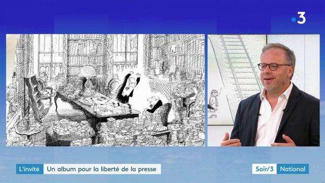 L'invité : Christophe Deloire, présente son album pour la liberté de la presse