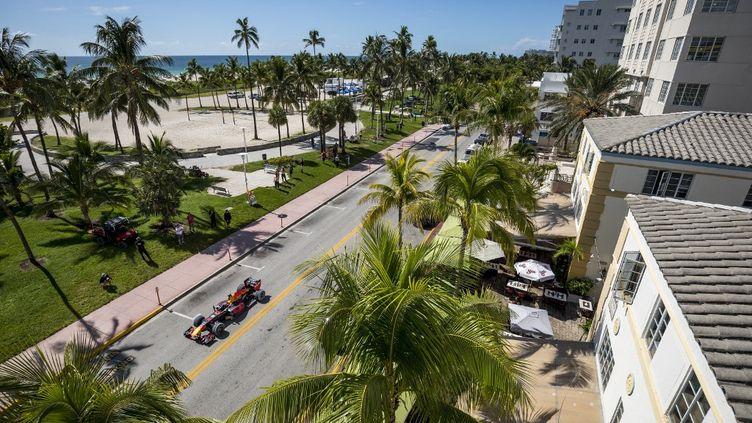 Le Miami Gardens accueillera le GP de Miami en mai 2022. (GARTH MILAN / RED BULL CONTENT POOL)