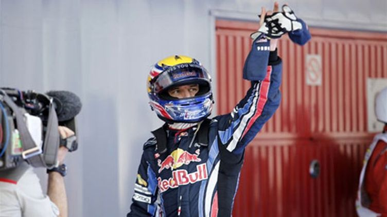 Webber - Espagne 2010