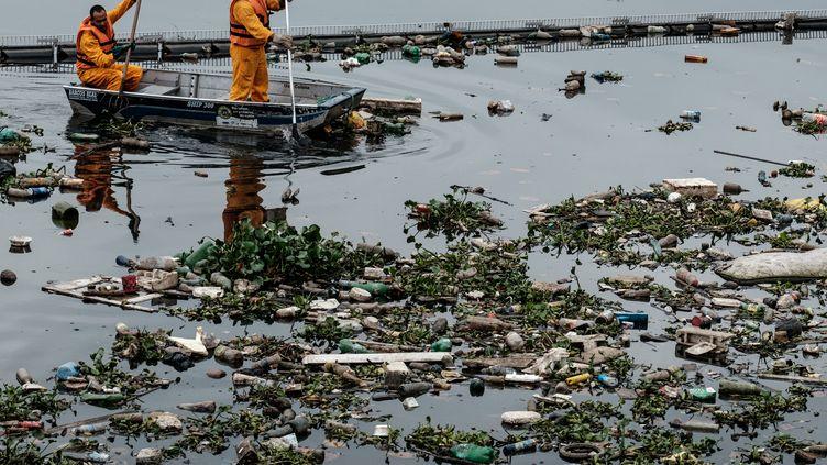 La baie de Guanabara (YASUYOSHI CHIBA / AFP)