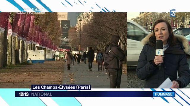 Hommage à Johnny Hallyday : les Champs-Élysées se préparent