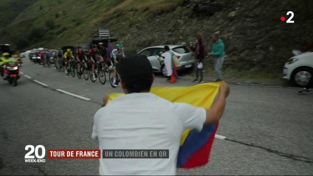 Tour de France : Egan Bernal, un Colombien en or