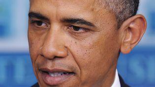 Barack Obama à al Maison Blanche le 28 décembre 2012 à Washington, DC (MANDEL NGAN / AFP)