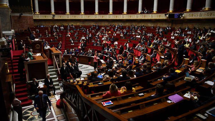 Loirs des questions au gouvernement à l'Assemblée nationale, le 8 juillet 2020 (photo d'illustration). (CHRISTOPHE ARCHAMBAULT / AFP)