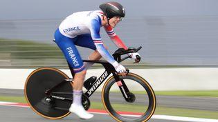 Rémi Cavagna sera au départ des championnats du monde en Belgique, deux mois après avoir participé aux Jeux olympiques, le 28 juillet 2021 à Tokyo. (AGENCE KMSP / AFP)