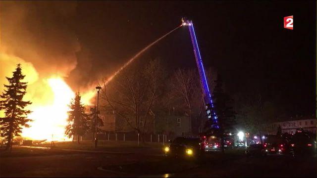 Incendie au Canada : les feux ralentis par les conditions météorologiques