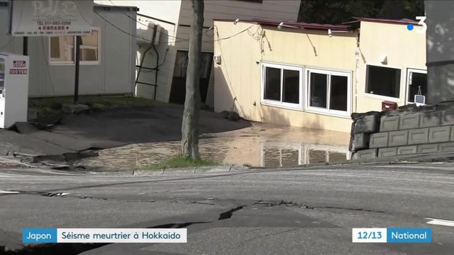 Japon : séisme meurtrier à Hokkaido