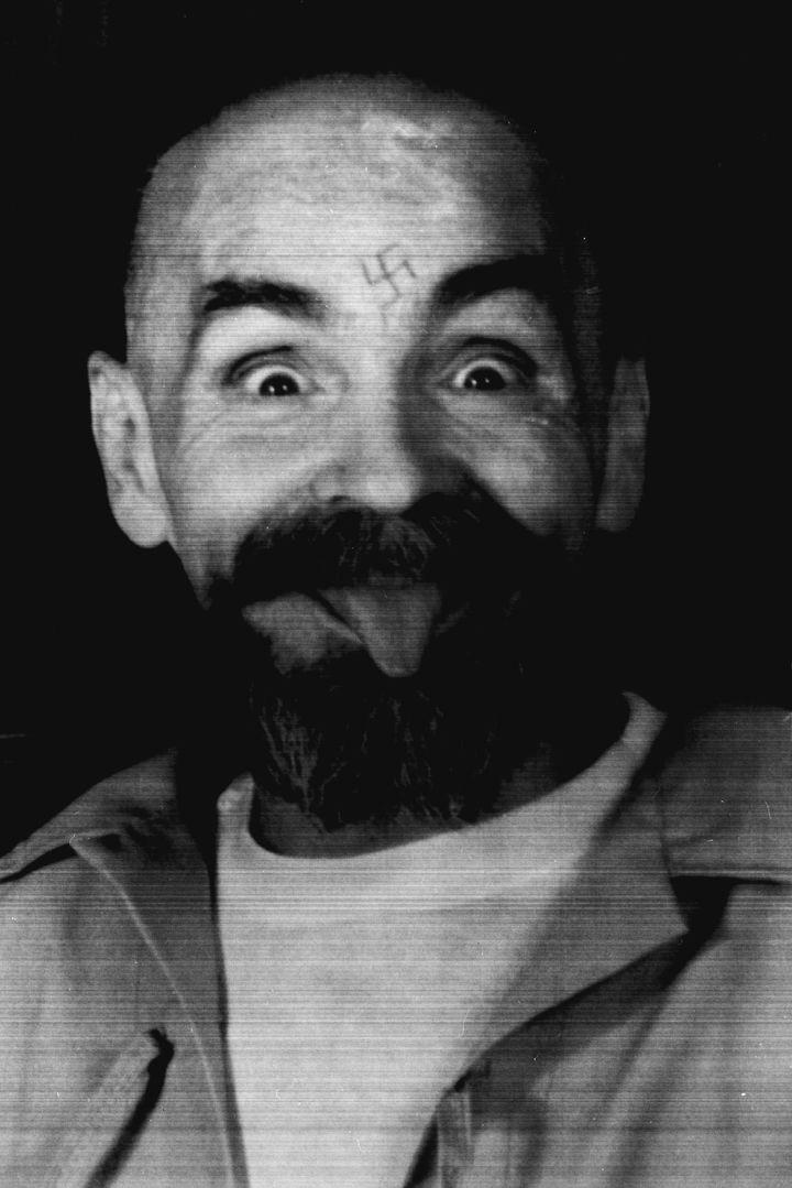 Charles Manson dans sa cellule, le 25 août 1989. (REUTERS)