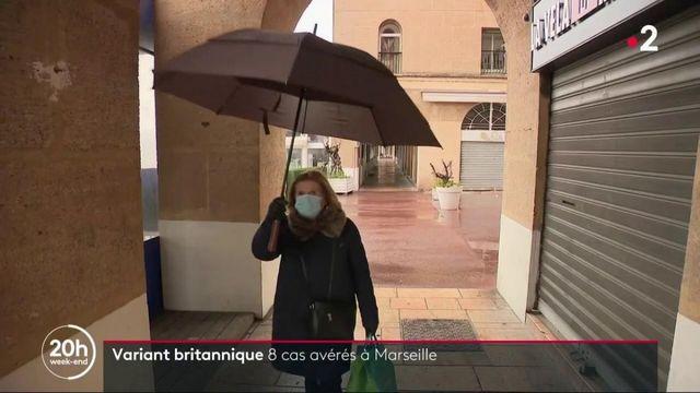Variant britannique du Covid-19 : huit personnes testées positives à Marseille