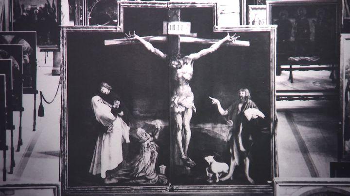 Le retable d'Issenheim, dernière obsession de Joris-Karl Huysmans. (France 3 Alsace / V. Roy)