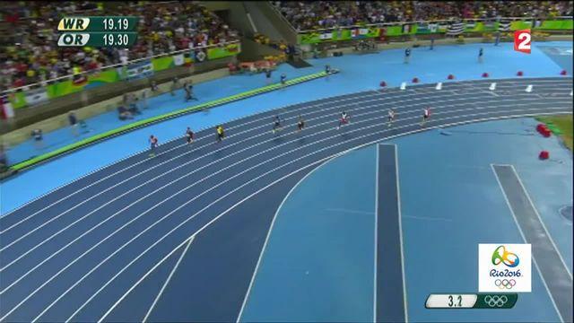 JO 2016 : Christophe Lemaitre en bronze au 200m