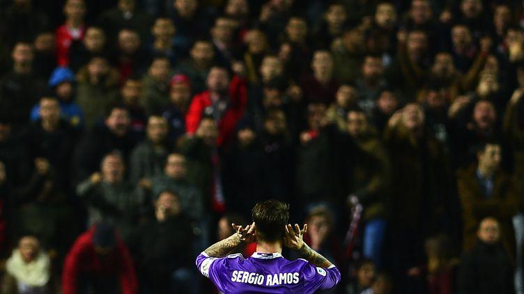 Sergio Ramos au coeur de la polémique (CRISTINA QUICLER / AFP)