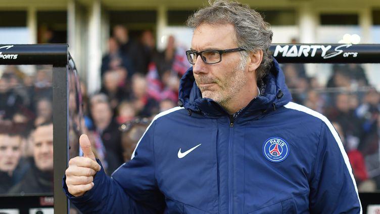 L'entraîneur du PSG, Laurent Blanc (LOIC VENANCE / AFP)