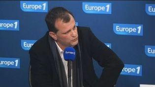 Louis Aliot, le vice-président du Front national, le 9 février 2012 sur Europe 1. (FTVi / EUROPE 1)