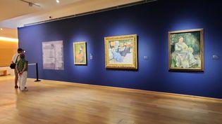 """Exposition """"Côté Jardin - De Monet à Bonnard"""" au musée des Impressionnismes à Giverny. (ANNE CHEPEAU / RADIO FRANCE)"""