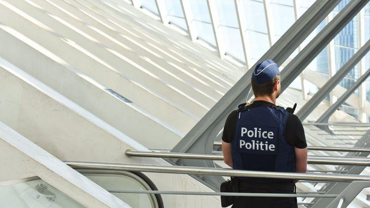 La police belge vigilante