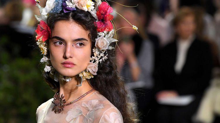Dior haute couture printemps-été 2017, à Paris, janvier 2017  (David Fisher/Shuttersto/SIPA)
