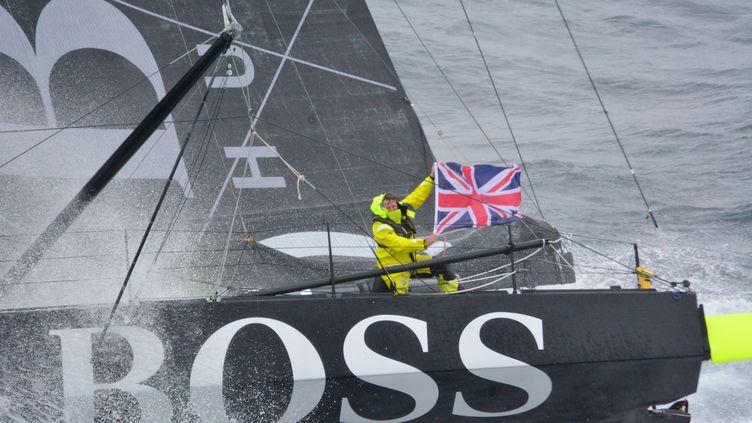 Le skipper britannique, Alex Thomson. (MARINE NATIONALE / NEFERTITI)