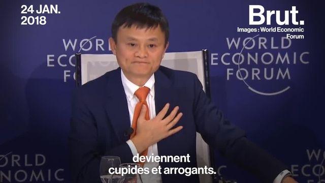 Brut : Jack Ma Davos