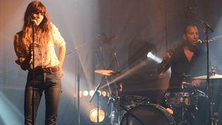 Lou Doillon aux Trans Musicales de Rennes le 7 décembre 2012  (THOMAS BREGARDIS / AFP)