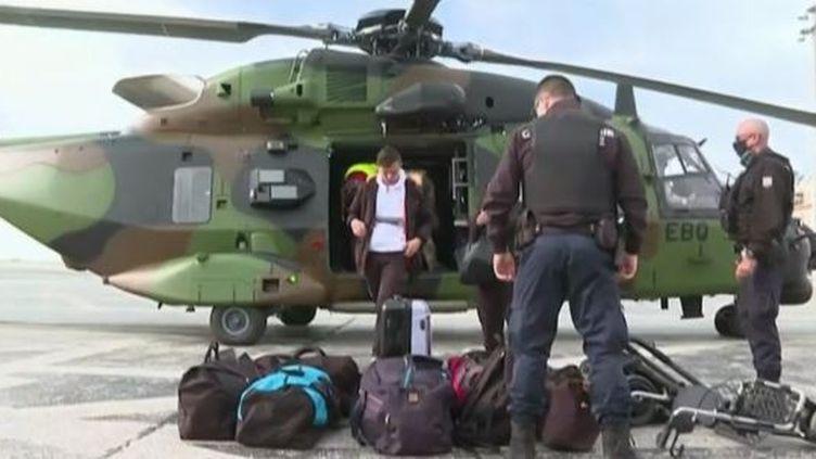 Tempête Alex : l'armée renforce son dispositif dans les Alpes-Maritimes (France 2)