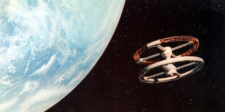 """""""2001, l'odyssée de l'espace"""" (réalisation : Stanley Kubrick, 1968)  (Archives du 7e Art / Photo12 / AFP)"""