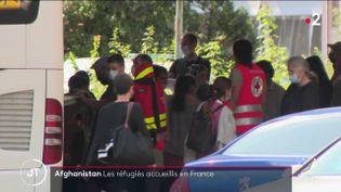 Des réfugiés afghans en France. (France 2)