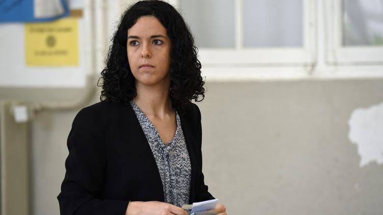 Manon Aubry, le 26 mai 2019 à Paris. (BERTRAND GUAY / AFP)